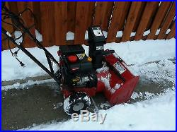 Craftsman 5HP Snowblower Electric/Recoil Start, 22, Gas, Two-Stage