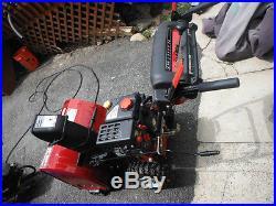 Craftsman 5 HP engine 24 Diameter 2 stage SNOWTHROWER with AUTO-START, 6 speeds
