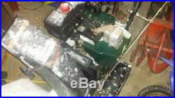 Craftsman 9HP 26 Snow Blower Snow Thrower Electric start Works great