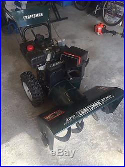 Craftsman Dual Stage Snow Blower Thrower 9 HP 29 Inch (Electric Start)