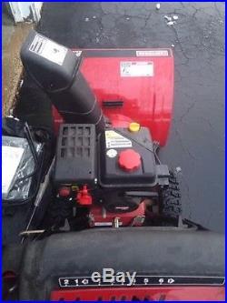 Craftsman SnowBlower Gas TwoStage Thrower 24 179cc Electric Start, LOCAL PICKUP