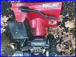 Craftsman Snow Blower 2 Stage 8 HP Electric Start 27 path USED NEEDS Tune up
