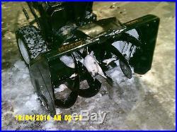Craftsman Snow Blower Snowblower 33 Inch Path 22 Inch Height Heavy Duty Versio