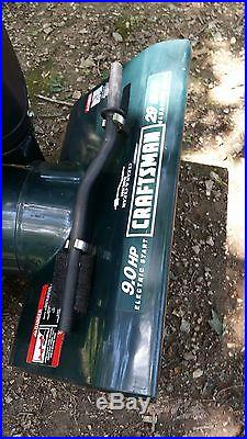 Craftsman Snowblower, bought brand new from Sears. Used one time, don't need it