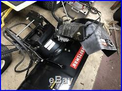 Craftsmann 42 Two Stage Snow Thrower/blower Tractor Attachment