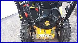 Cub Cadet 3X (26) 357cc Three-Stage Snow Blower! MINT! BEAST