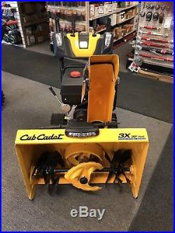 Cub Cadet 3x 30 Trac 3 Stage Track Snow Blower