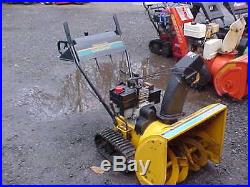 Cub Cadet 524T / 2 Stage Snow Blower with Electric Start / Track Drive
