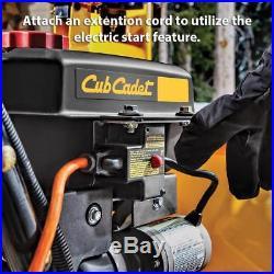Cub Cadet Electric Start Gas Snow Blower Power Steering Steel Chute 243cc