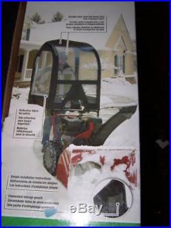 Deluxe Snow Thrower Cab For 2 stage Blower Craftsman Husqvarna Ariens Cadet Toro