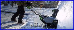 EGO 21 Cordless Electric Snow Blower Lithium Ion Battery Powered Single Stage