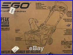 EGO 21 in. 56V Lithium-Ion Cordless Electric Single-Stage Snow Blower(Tool Only)