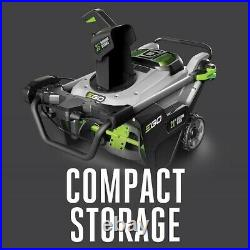 EGO POWER+ 56 Volt 21 Single Stage Cordless Snow Blower withBattery SNT2102