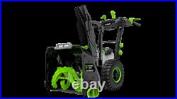 EGO Power+ SNT2400 24 2-Stage Snow Thrower Battery and Charger NOT Included
