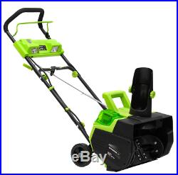 Earthwise (22) 40-Volt Cordless Electric Snow Blower