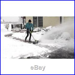Earthwise Electric Snow Shovel Corded 16 In. Wide Clearing Path Adjustable Throw