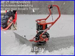 Elektro Schneeschieber Schneeschild Schneefuchs Schneeräumer Schneefräse 2017