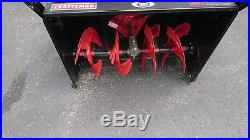 Excellent Craftsman Dual Stage Snow Blower 28' 357 cc Withelec start. Used 5 hours