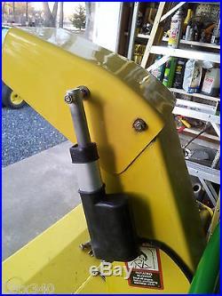 FITS JOHN Deere HD 47 Snow blower thrower Spout Chute Control MOD 455 445 425
