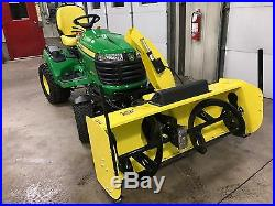 FOR John Deere FITS AM126215 UPDATED Snow Blower Spout Chute Control HD SYSTEM