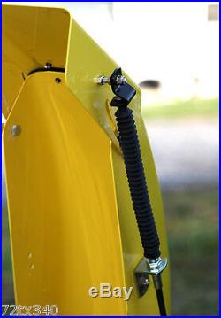 For Kubota Kioti Snowblower Linear Actuator Electric Chute Control Kit & Plans