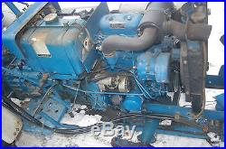 Ford -New Holland 1100 Tractor Snow Plow & 3pt Snow Blower