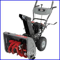 Gas Powered Snow Blower Self Propelled Electric Start 2 Stage 24 Inch Snowblower