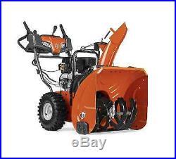 Gas Powered Snowblower Electric Start Snow Thrower Shovel 208cc Husqvarna NEW