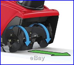 Gas Snow Blower 21 Single Stage Medium Duty Self Propel Toro 4 Cycle Engine