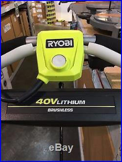 Get Ready for Snow-Ryobi 40 Volt Snow Blower & Free FedEx Shipping
