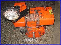 Gilson Briggs & Stratton 8hp snowblower engine light electric start Cam PTO dual