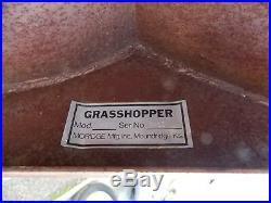 Grasshopper Snow Blower Model M412 Barely Used