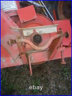 Gravely 38 inch lawn tractor snow blower 812 816 450 rider in ny