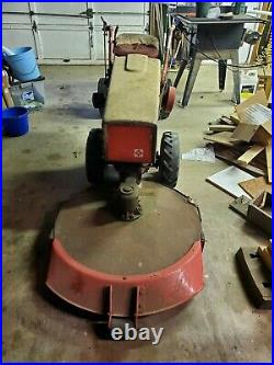 Gravely L8 walk-behind tractor