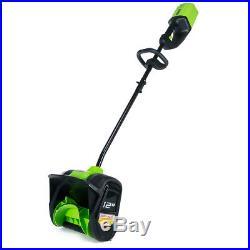 GreenWorks GLSS80000 80-Volt 12-Inch Cordless Snow Shovel Bare Tool 2601202