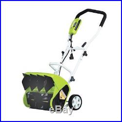GreenWorks Powerful 10A 16-Inch Corded Electric Snow Thrower, 26022 New