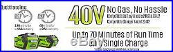 Greenworks 12-Inch 40V G-MAX Cordless Snow Shovel 2601402