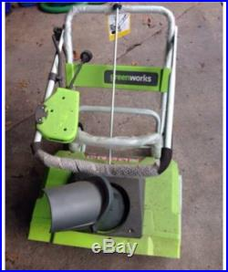Greenworks Electric Snowblower