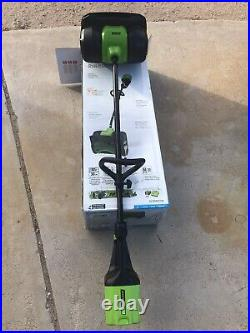 Greenworks PRO 12-Inch 80V Cordless Snow Shovel Battery Charger Incld. LIGHT USE