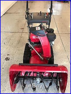 Honda Model Hs928tas Snowblower, 28 Clearing Width, Track Drive
