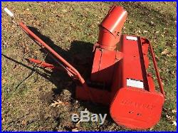 Heavy Duty Gravely 44 Inch 2 Stage Snowblower Incl. Tractor Connections Used
