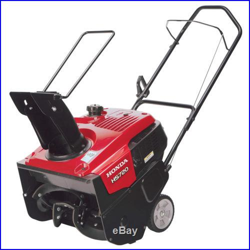 Honda 20 Wide x 12 High Clearance Single Stage Snow Blower Thrower HS720AMA
