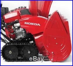 Honda (32) 389cc Two-Stage Track Drive Snow Blower with 12-Volt Electric Start