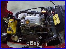 Honda 5518A4 Tractor With 2 Stage Snow Blower Model# SB800A