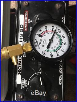 Honda HS50 Snow Blower OEM Motor Engine G200-197 cm^3 Excellent! Snowblower