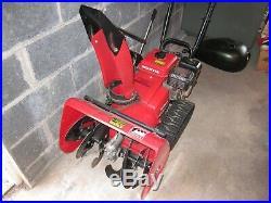 Honda HS622 Snow Blower Tracks