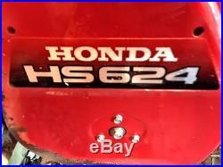 Honda HS624 Snow Blower