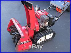 Honda HS624 Track Hydrostatic Drive 24 Snowblower