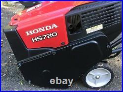 Honda HS720ASA (20) 187cc Single-Stage Snow Blower 2 Winter Use Very Good