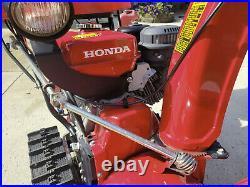 Honda HS928TA Track Drive Snowblower. NICE